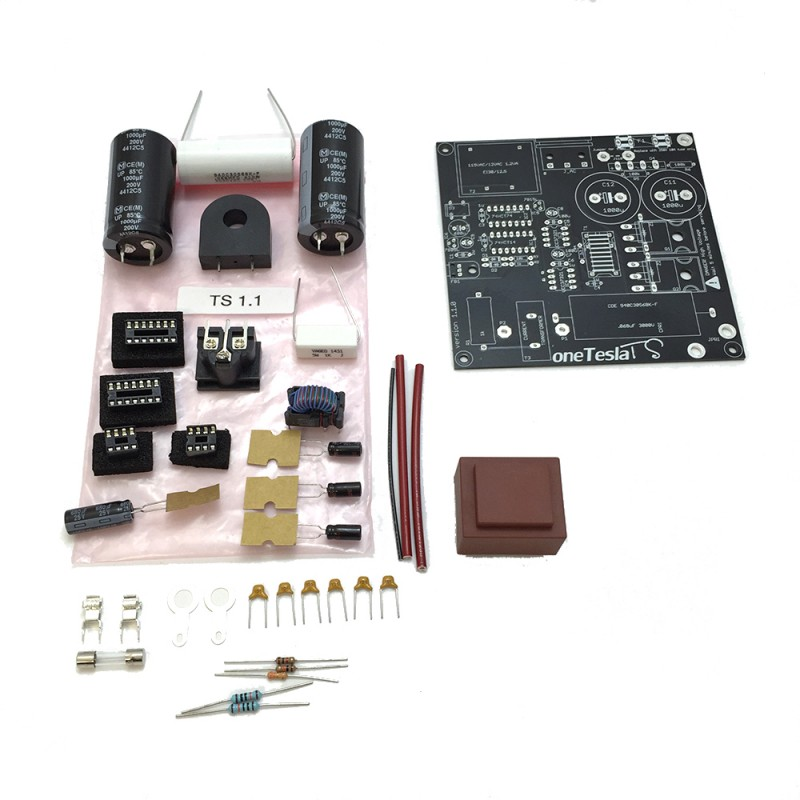 oneTeslaTS Full Main Board Replacement Set with Silicon