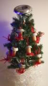 Handmade miniature Tesla coil ornament