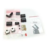 silicon replacement parts kit for the oneTeslaTS musical Tesla coil kit