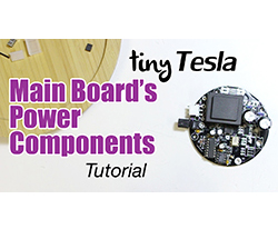 main board power components installation tutorial