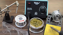 How to solder tutorial