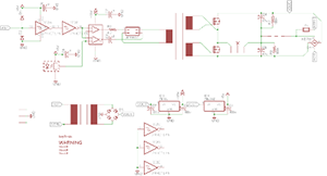 tinyTesla schematic - challenging DIY electronics projects