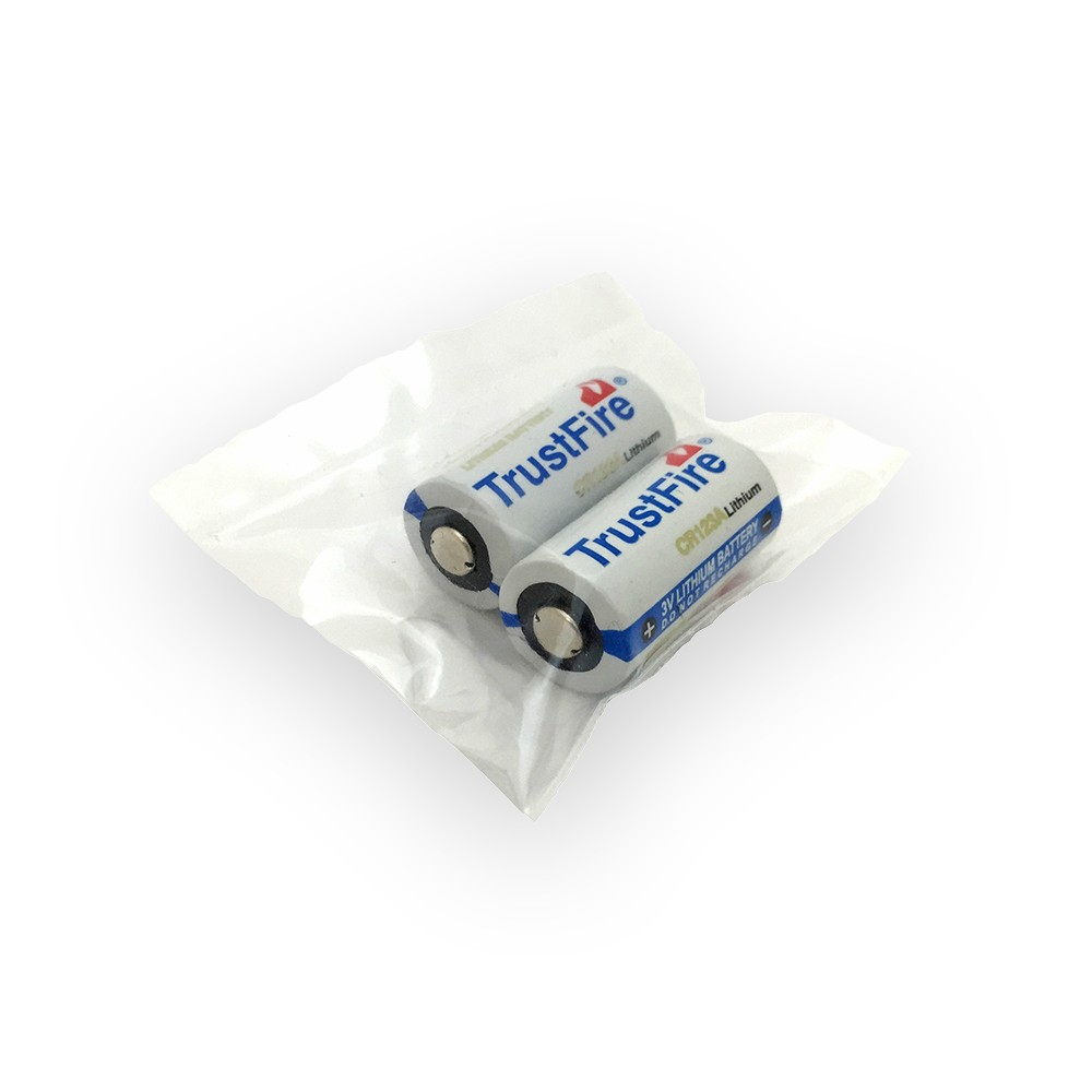 CR123A Lithium Ion batteries
