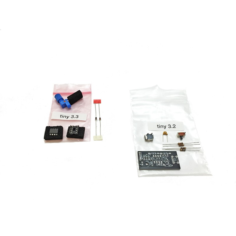 Interrupter replacement parts set for the tinyTesla musical Tesla coil kit