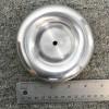 "tinyTesla 4.5"" O.D. Spun Aluminum Toroid / Tesla coil topload for use with the tinyTesla musical Tesla coil kit"