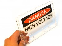 Place your Danger High Voltage sticker on your oneTesla musical Tesla coil kit