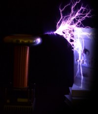 oneTeslaTS is an open-source, high-performance DRSSTC musical Tesla coil kit.