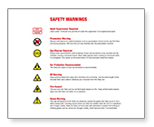 oneTeslaTS Warnings Sheet