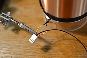 Solder the primary connector