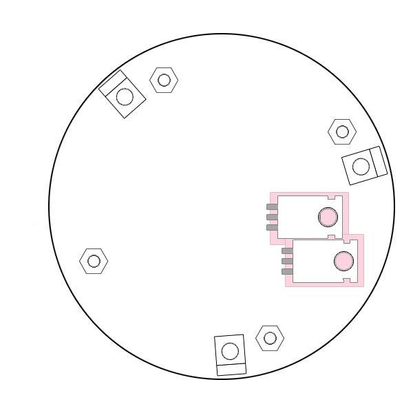 Heat sink diagram