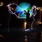 Spinning antenna demo